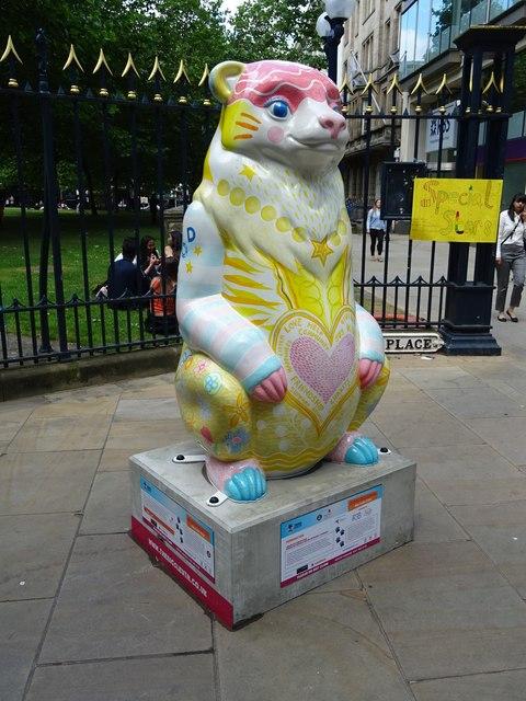 'PODdington' Bear