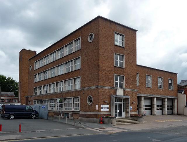 Fire station, St Owen's Street, Hereford