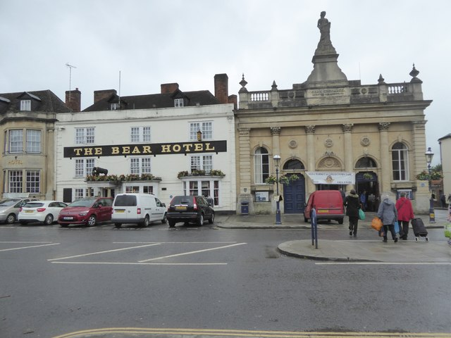 Devizes Corn Exchange and the Bear Hotel