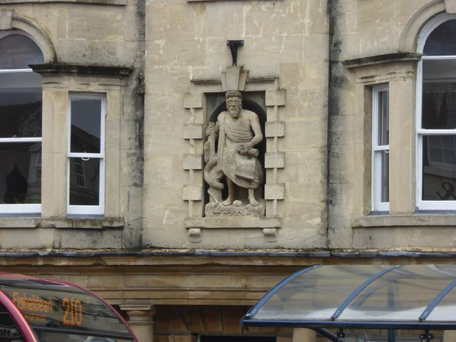 Carving on Parnella House