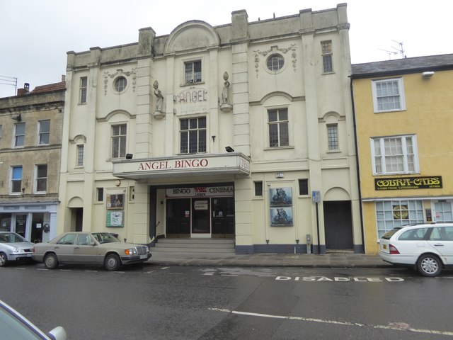 The Angel Cinema, now used for bingo