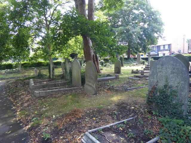 St James's Churchyard, Hertford Road, Enfield