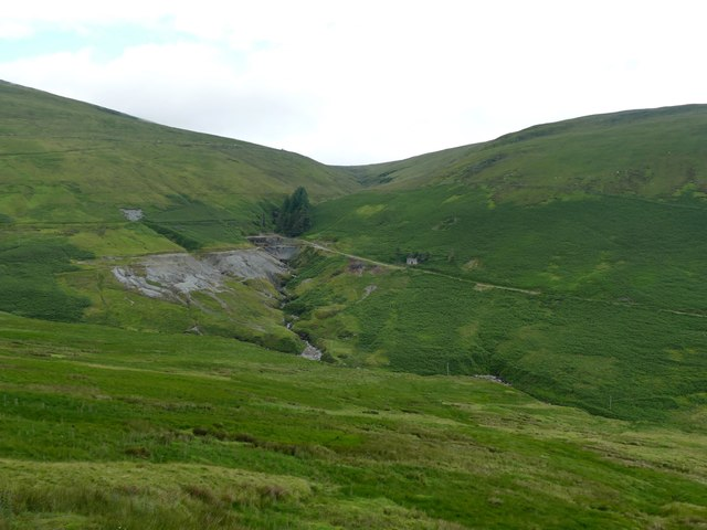 The Great Snaefell Mine from the Snaefell Mountain Railway