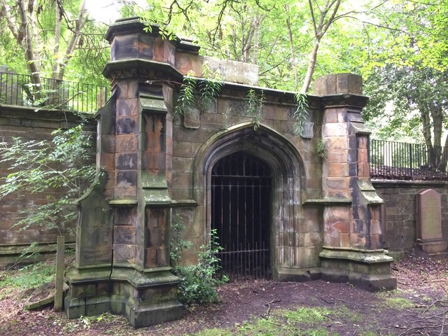 Crypt, Dalry Cemetery