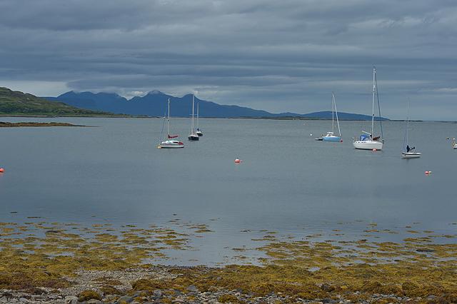 View over Loch nan Ceall