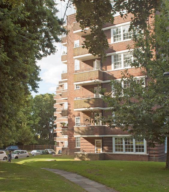 Apartment blocks, Hillcrest Estate