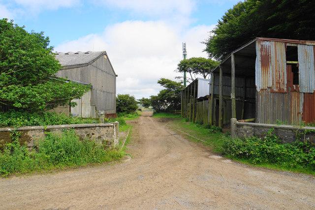 Farm buildings off Lydiate Lane