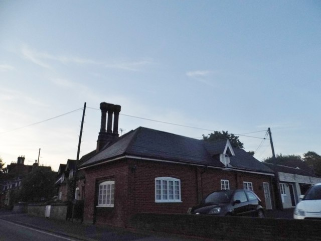 House and chimney in Hursley
