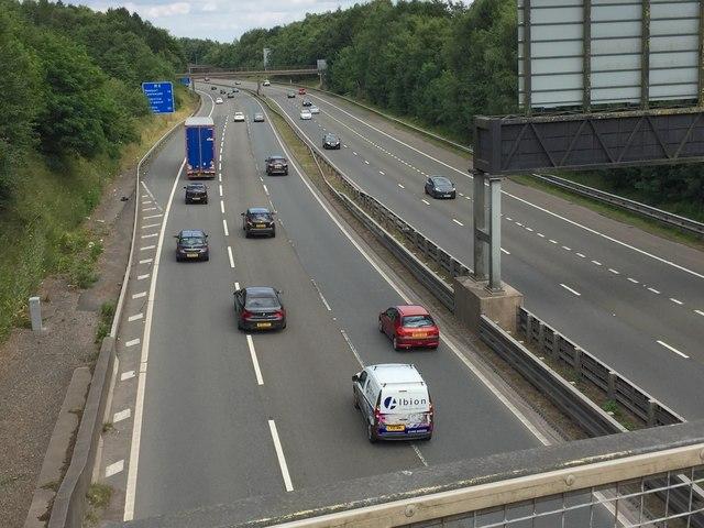 M4 Motorway - Eastbound