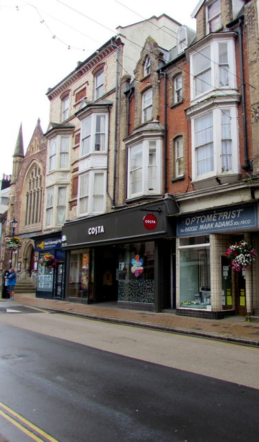 Optometrist in High Street, Ilfracombe
