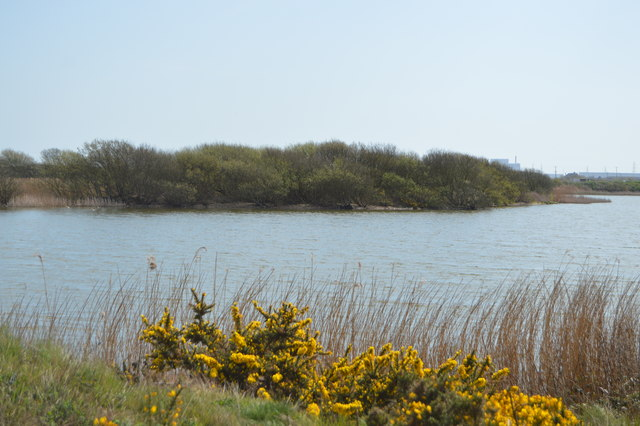 Island, Flooded gravel pit