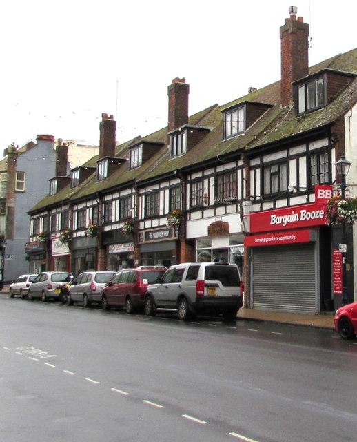 Bargain Booze in Ilfracombe