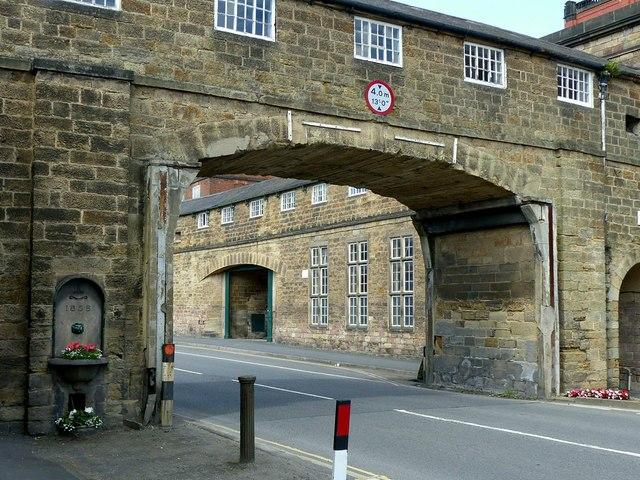 Footbridge at Belper Mills
