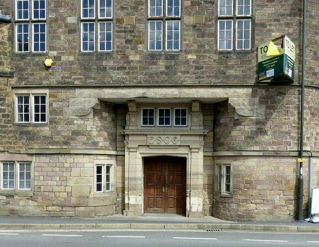 Office entrance, Belper Mills