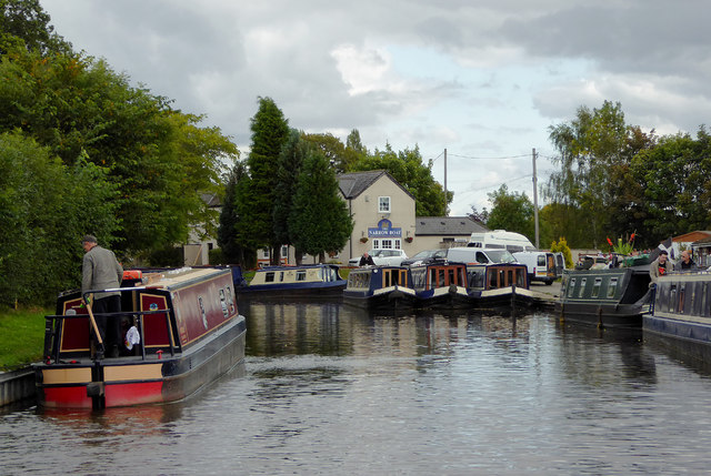 Canal south-west of Welsh Frankton, Shropshire