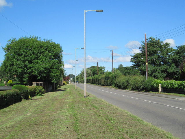 The A522 at Deadman's Green