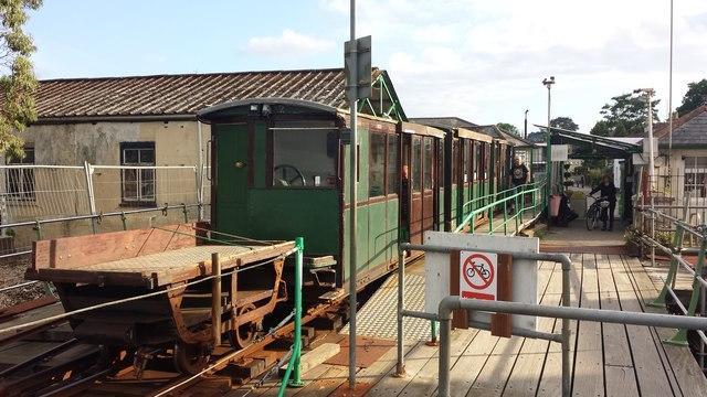 Hythe Town Station, Hythe Pier Railway