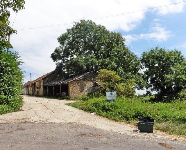 Entrance, East Lease Farm