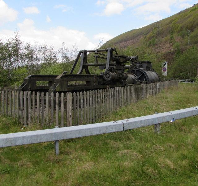 Former Marine Colliery pumping engine, Cwm