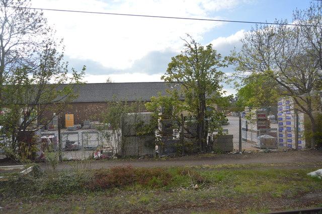 Builders Merchants Yard