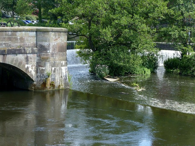 Belper Mills weirs and sluices – 3