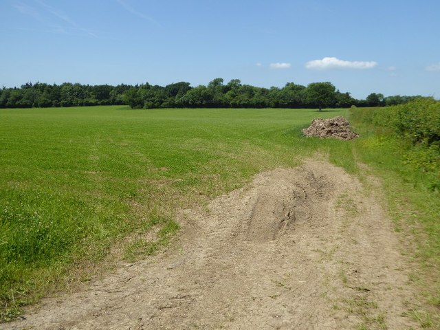 Farmland near Williamstrip Farm