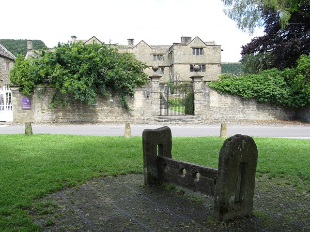 Eyam Hall And Stocks