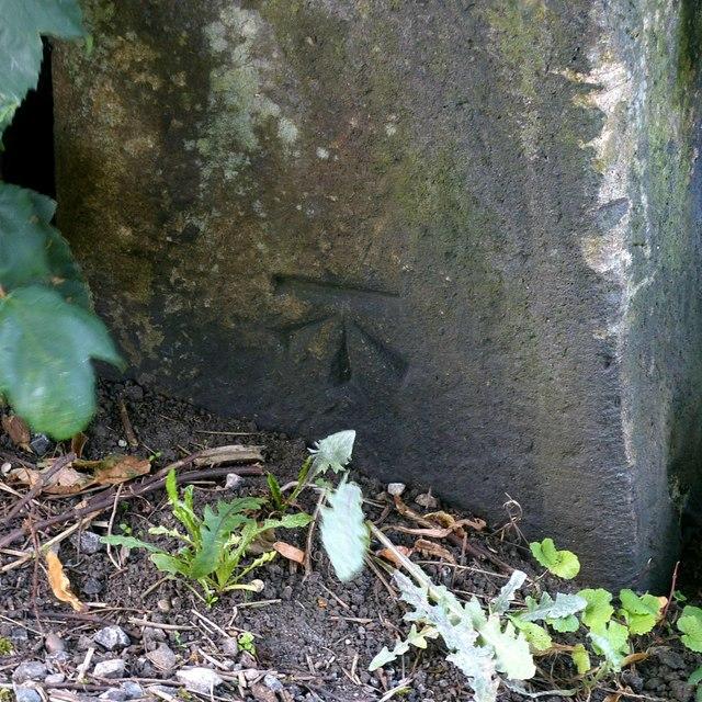 Bench mark, Bridge Foot, Belper