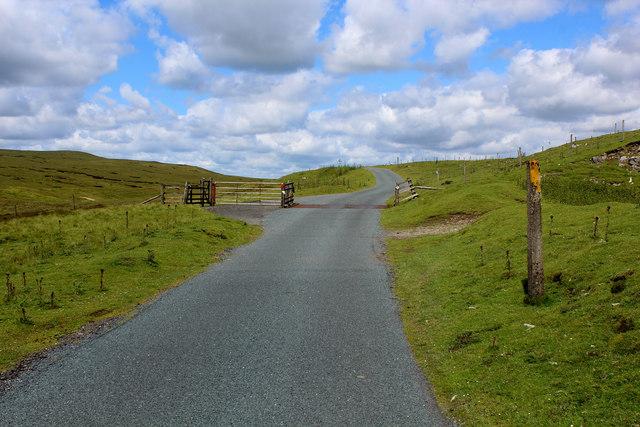 Cattle Grid on the Askrigg/Muker Road