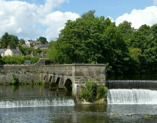 Belper Mills weirs and sluices – 4