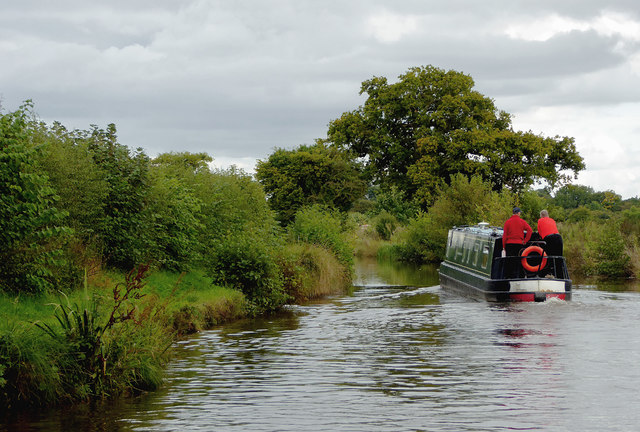 Llangollen Canal south-west of Welsh Frankton, Shropshire