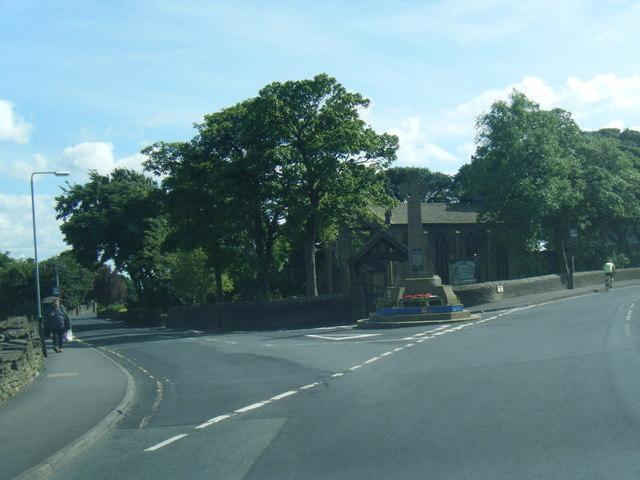 Bradshaw Lane at War Memorial