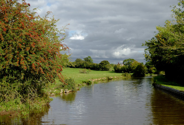 Llangollen Canal near Lower Frankton in Shropshire