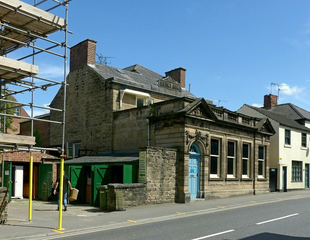 Former Savings Bank, Bridge Street, Belper