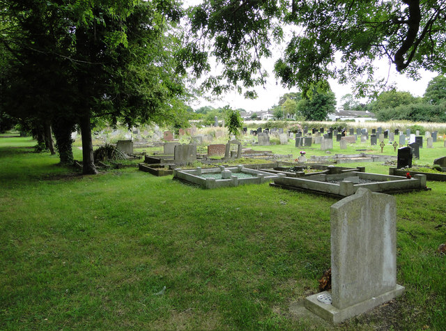 Part of Swaffham Bulbeck cemetery