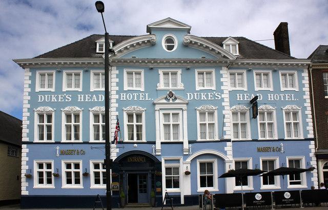 Duke's Head Hotel, 5 and 6 Tuesday Market Place, King's Lynn