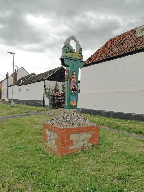 Reach Village Sign