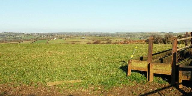 Field near Helsbury Castle
