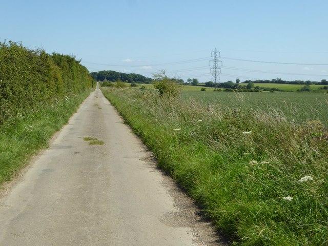 Road to Ladbarrow Farm