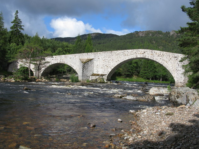 The Old Brig o' Dee (Old Bridge of Dee, Invercauld Bridge)