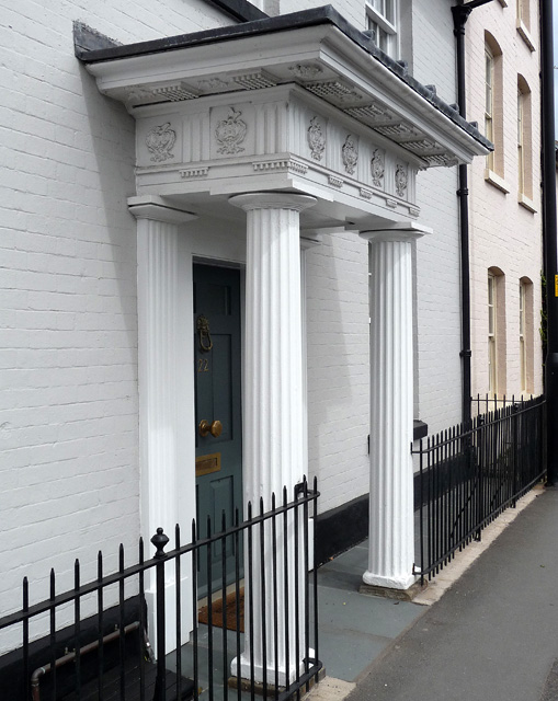 Detail of 22 Barton Road, Hereford