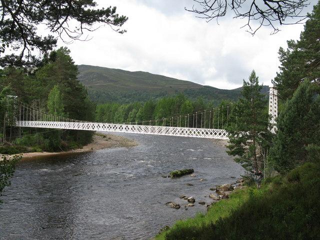 Garbh Allt Shiel Bridge (Garbh Allt Suspension Bridge)