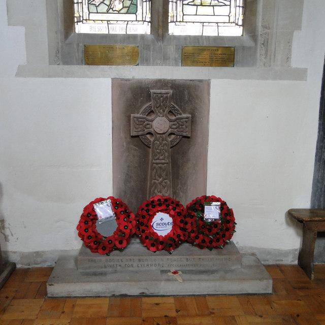 Swaffham Prior War Memorial