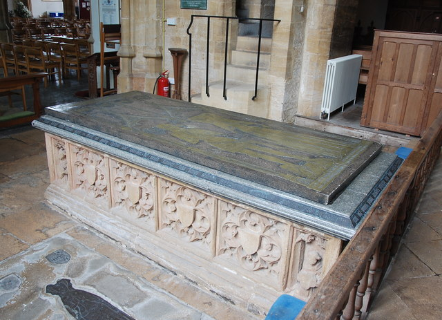 Daubeney tomb, St Peter and St Paul Church