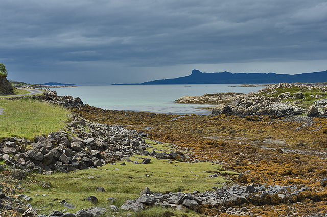 Coast by the Rhue road