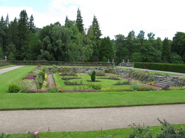 Sunken Garden, Balmoral Castle