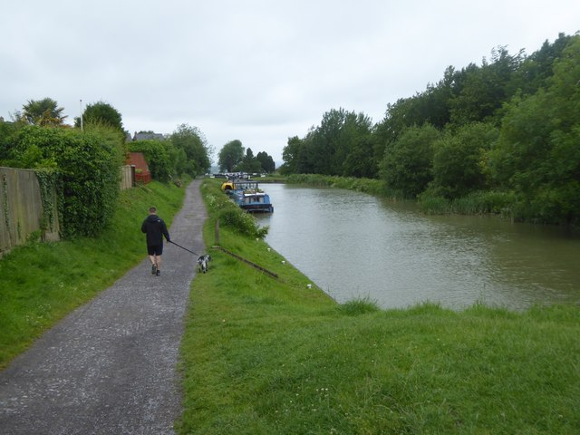 Top of the lock staircase, Devizes
