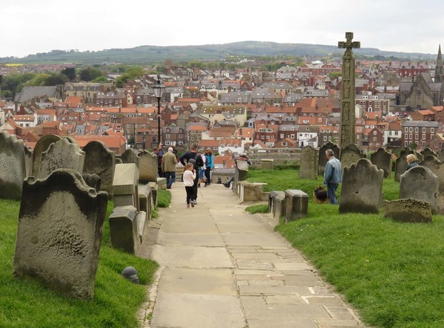 Path in St Mary's churchyard