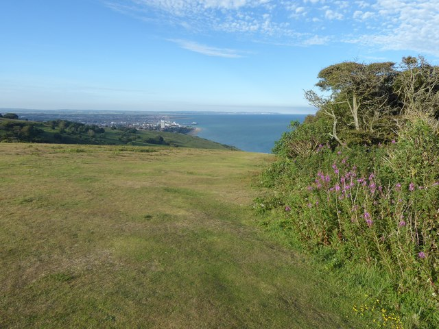 View over Eastbourne