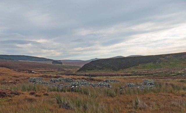 Sheepfold, Strath na Frithe, Sutherland